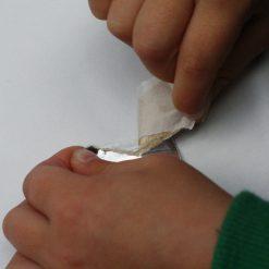 Silver Quicksticks Tape