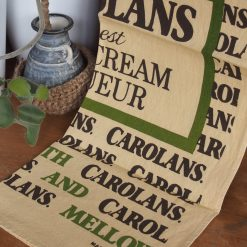 Vintage Tea Towel: Carolans Irish Cream Liqueur