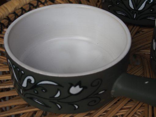 Made in Japan Green Patterned Ramekin Bowls