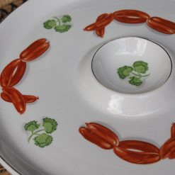 Ide Bros Ironstone Ware Patterned Plate
