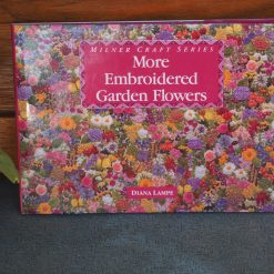 More Embroidered Garden Flowers Book