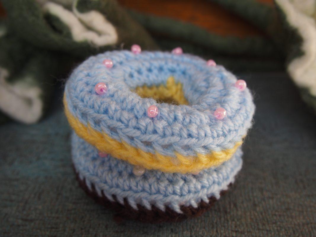 Handmade Crochet Doughnuts