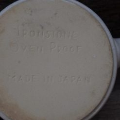 Made in Japan Ironstone Ovenproof Ramekin Dish
