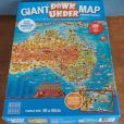 Giant Down Under Map Jigsaw Puzzle