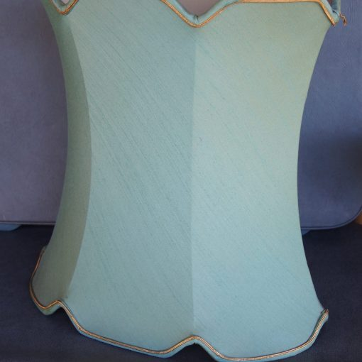 Retro Vintage Aqua Lamp Shade