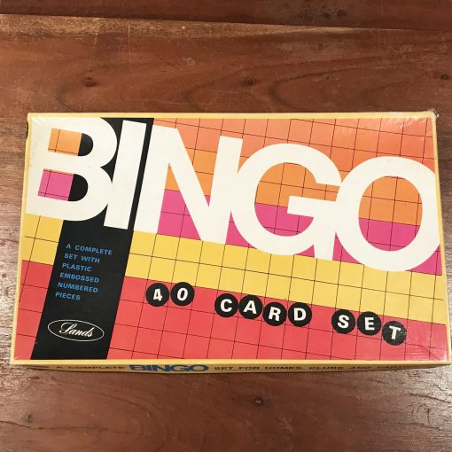 Vintage Bingo Board Game