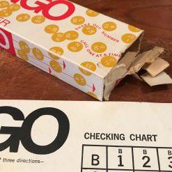 Vintage Bingo Board Game