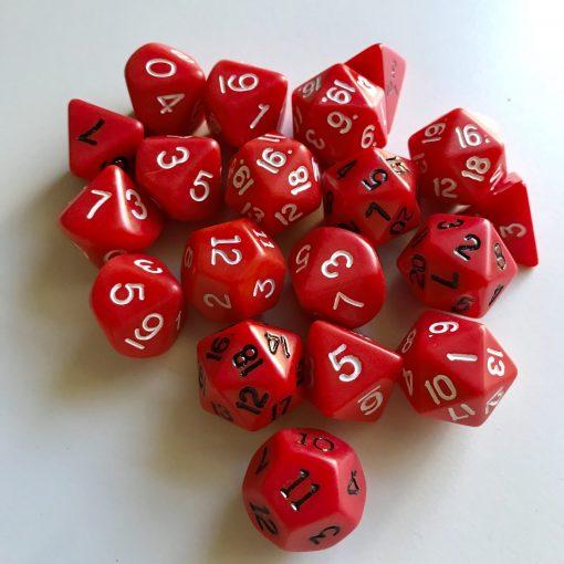 Vintage Koplow Games Polyhedral Dice Set