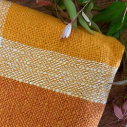 Vintage Tablecloth - Shades of Orange
