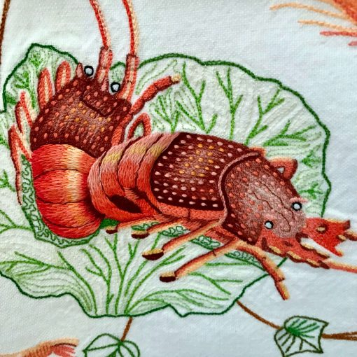 Vintage Lobster Tea Towel