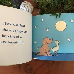 Dog & Bird See the Moon
