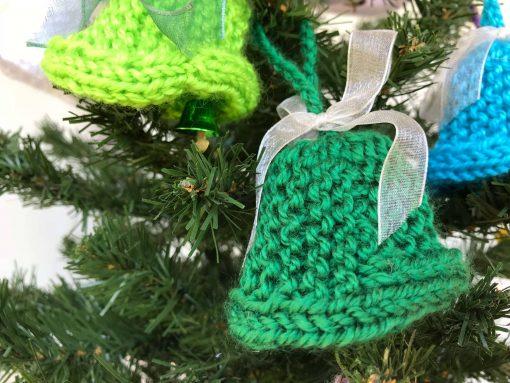 Handmade Christmas Tree Decorations - Dark Green