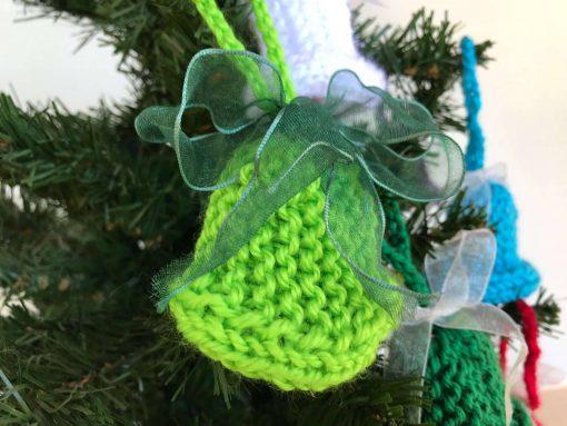 Handmade Christmas Tree Decorations - Light Green
