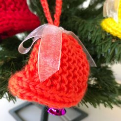 Handmade Christmas Tree Decorations - Orange