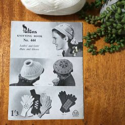 Vintage Patons Knitting Patterns No. 444