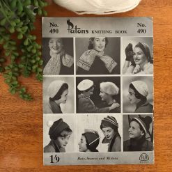 Vintage Patons Knitting Patterns No. 490