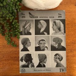Patons Vintage Knitting Pattern Book No. 490