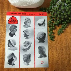 Vintage Patons Knitting Patterns No. 547