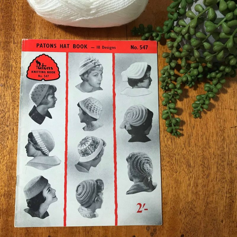 Patons Vintage Knitting Pattern Book No. 547