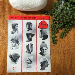 Vintage Patons Knitting Patterns No. 547