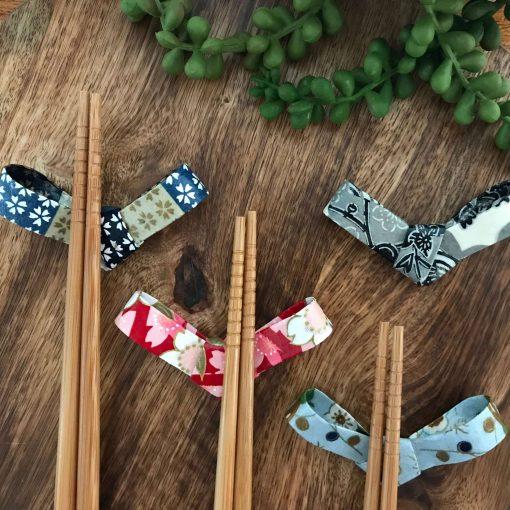 Handmade Washi Paper Chopsticks Holders