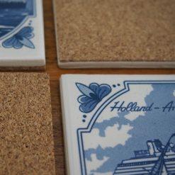 Holland America Line Souvenir Coasters