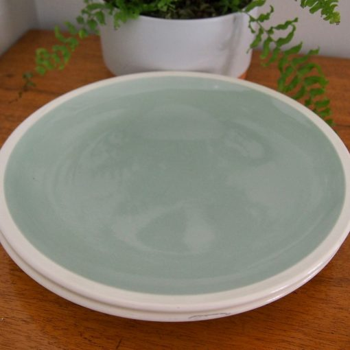 "Vintage Wedgwood ""Barlaston Green"" Dinner Plates"