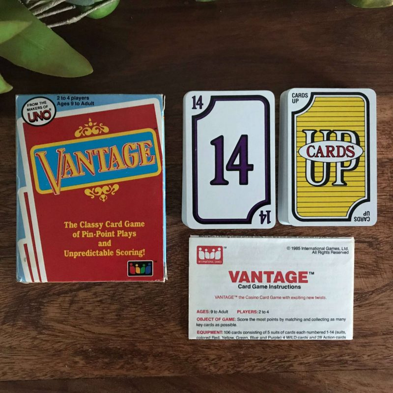 Retro Card Game - Vantage