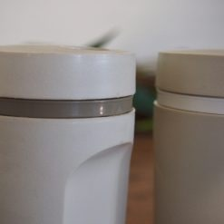 Retro Tupperware Salt and Pepper Shakers