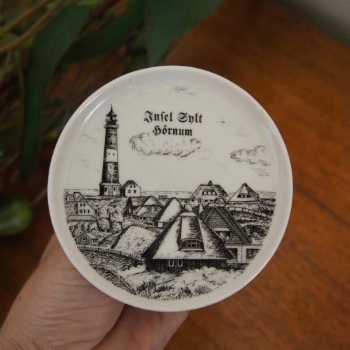 German Village Souvenir Coaster Plates