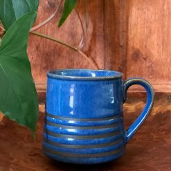 Blue Japanese Pottery Set