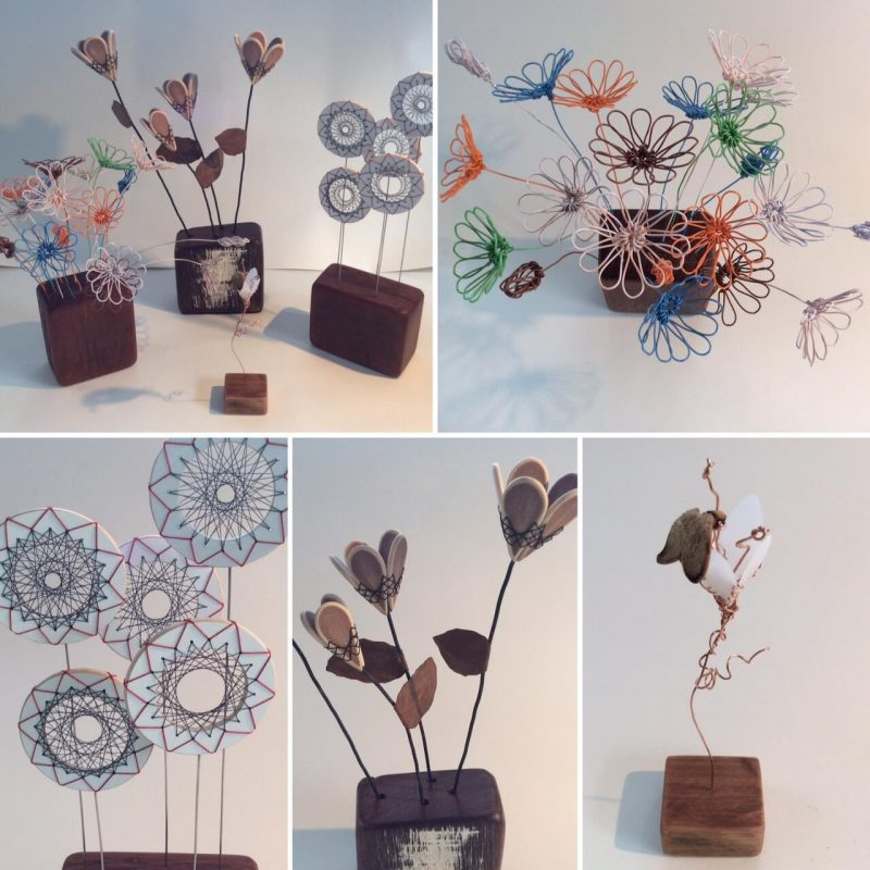 Forager. In Search of Blossom: From Waste to Art