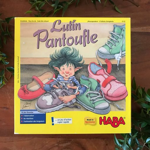 Haba Game - Lutin Pantoufle - Buy secondhand kids game from sustainable living online shop, French for Tuesday. Newcastle, Australia.