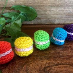 Hand Crochet Macarons