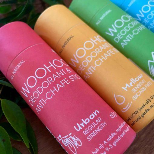 Woohoo Deodorant & Anti-Chafe Stick