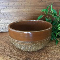 Vintage Fowler Pottery Langley Ware Bowl