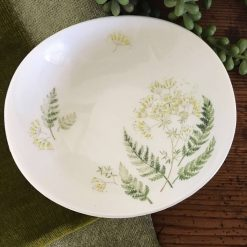 Vintage Johnson Bros Coupe Bowl - Botanical Dinnerware Pattern