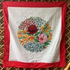 Vintage Scarf - Australian Wildflowers